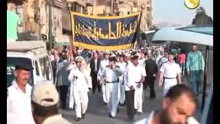 الطرق الصوفية تحتفل بالعام الهجري بموكب حاشد لمريديها