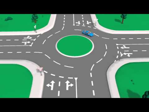Road rules: roundabouts - YouTube