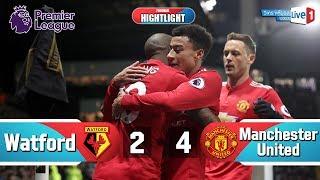 Hightlight Football : วัตฟอร์ด 2-4 แมนเชสเตอร์ ยูไนเต็ด แอชลี่ย์ ยัง จัดไป 2 เม็ด