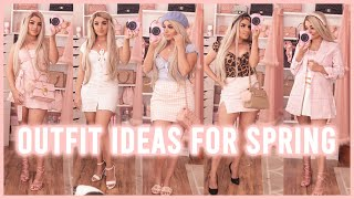 Spring 2020 Outfit Ideas & Haul