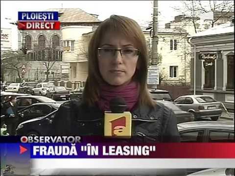Perchezitii in cazuri de frauda a unor firme de leasing 7 APRILIE 2011