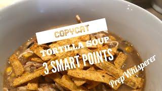 Copycat Tortilla Soup 3 WW SmartPoints - Instant Pot Or Crockpot