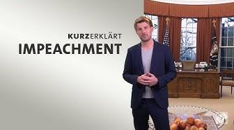 #kurzerklärt: Wie funktioniert das Amtsenthebungsverfahren für Präsidenten in den USA?