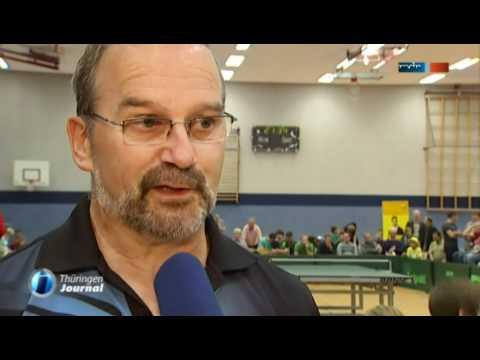 Thüringen Journal Tischtennis Stars Begeistern In Mühlhausen Youtube