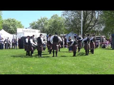 Finvoy Pipe Band @ Ards & North Down Pipe Band Championships 2016