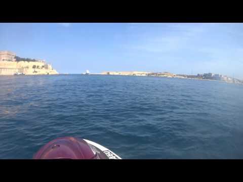 Valletta, Grand Harbour (JET SKI SAFARI round Malta)