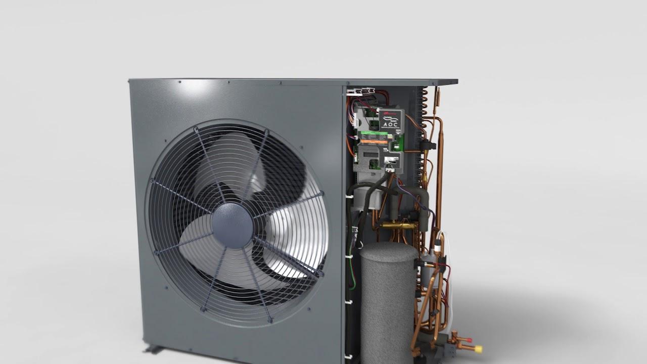 Ultra Quiet! Trane XV19 Variable Speed Low Profile Heat Pump