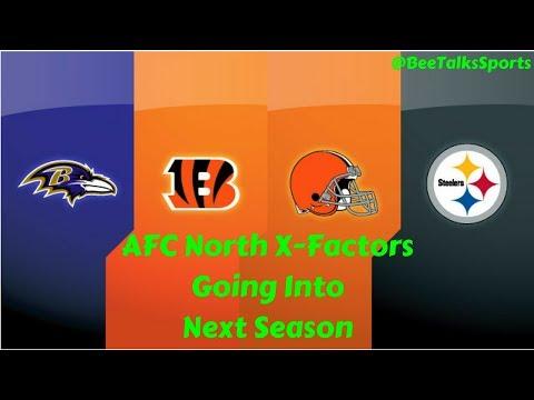 NFL X-Factors Going Into Next Season! AFC North Edition!!   NFL Predictions