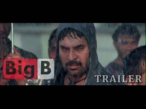 BIG B Trailer | Mammootty | Amal Neerad | Manoj k Jayan | Bala | Sameer Thahir