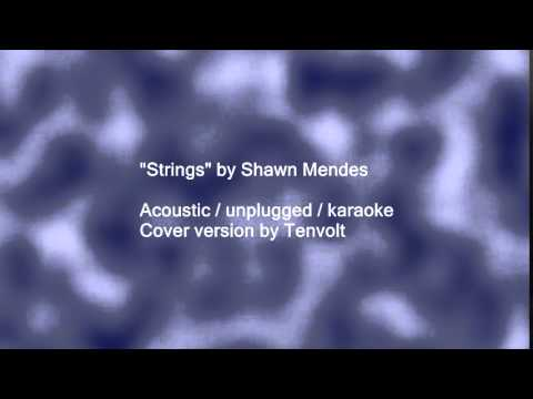 Shawn Mendes Strings   Acoustic Unplugged Karaoke Cover