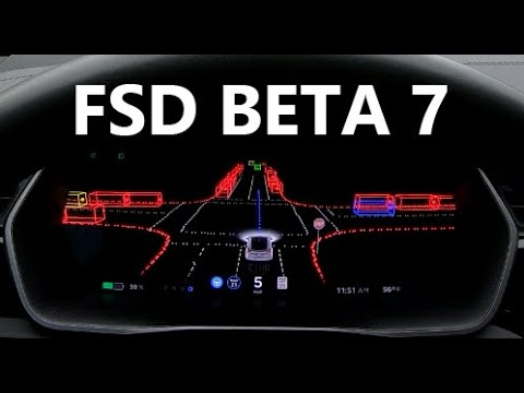 The state of Tesla FSD (Beta 7)