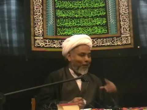 Bibi Fatimah Shahadat 2009 - Urdu Shia Islam Majlis Lecture - Nottingham UK p6/9
