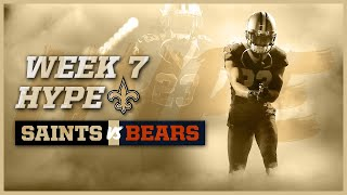Saints vs Bears Week 7 Hype Video | New Orleans Saints Football | 2019 NFL