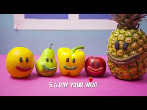 The 5 A Day Song  Go Golborne