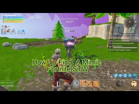How To Find A Mimic In Fortnite Save The World