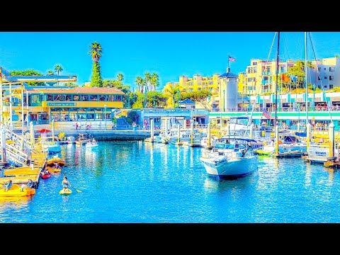 A Walk Around King Harbor, Redondo Beach, California