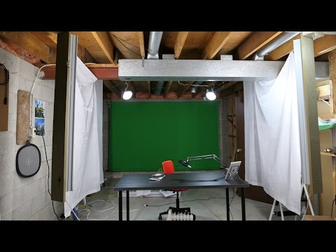 DIY Audio Treatment with Cheap One Dollar Shower Curtains