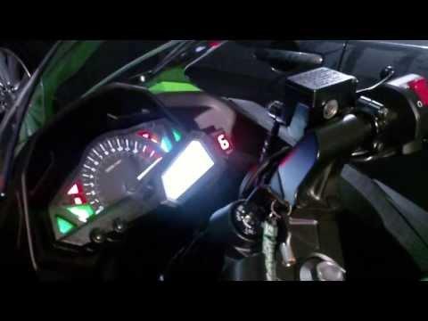 2013 Kawasaki Ninja 300 - HealTech GIPro Gear Position Indicator