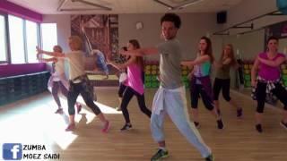 Duele El Corazon - Enrique Iglesias ft. Wisin | Zumba Fitness choreography by Moez Saidi