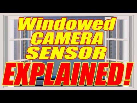 Windowed Camera Sensor Explained