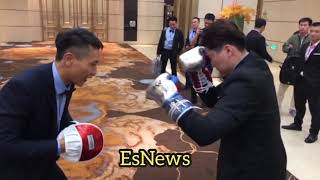 Skills! Boxing growing in China