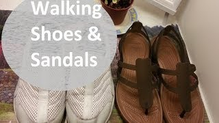 FAVORITE WALKING SHOES & FLATS | Crocs, Flexx, & Merrell Sandals - | effortlessruth Thumbnail