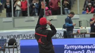 Открытие баскетбольного сезона единой лиги ВТБ 2013/2014 БК Нижний Новгород