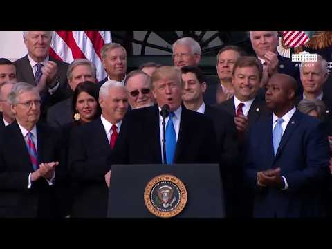 Download Youtube: President Trump Tax Reform Bill Victory Speech