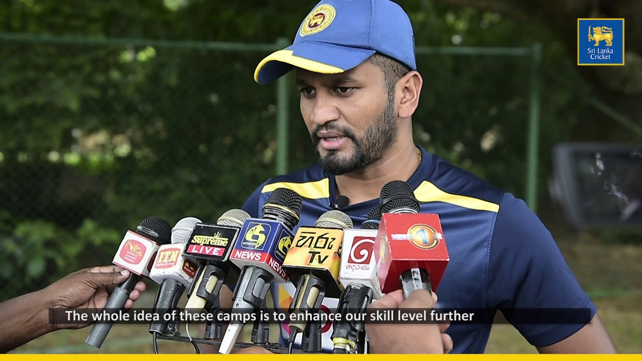 Dimuth Karunaratne speaks about the Residential Training Camp