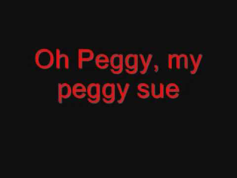 Buddy Holly, Peggy Sue (with lyrics).wmv