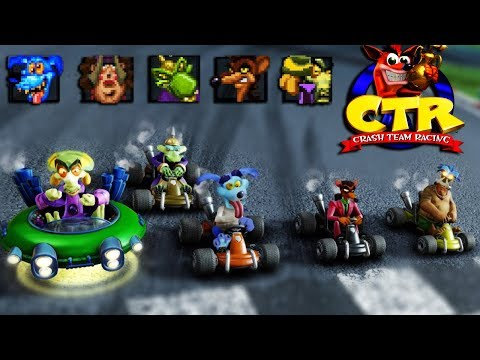 Crash Team Racing Nitro-Fueled - CTR Bosses In Online Races #45