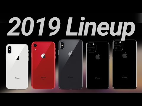 Crazy 2019 iPhone Rumors: 5 New Models Coming?! MacBook Pro 2020