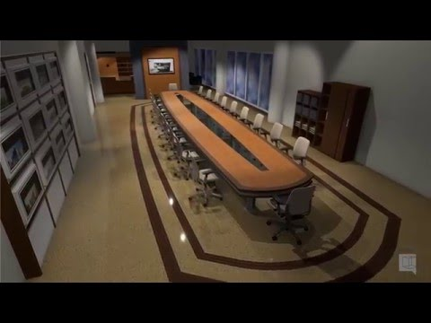 VORTEK Spaces - Board Room with reception area (SketchUp)