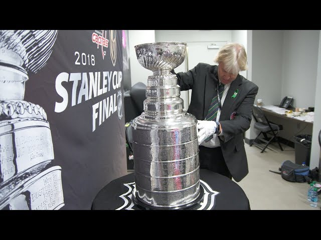 Follow the Stanley Cup on its journey to the arena
