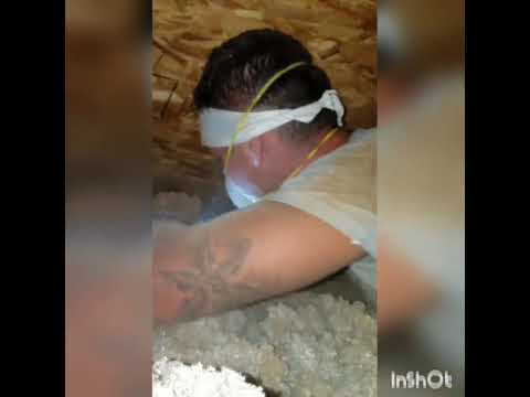 Attic Insulation Proper Way To Install Baffles Duct Seal