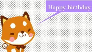 Happy birthday wishes video