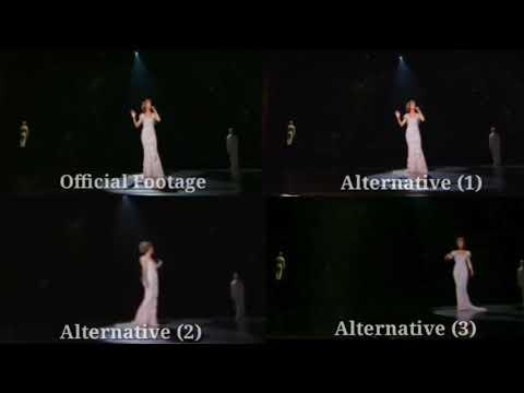ALTERNATIVE FOOTAGE   Céline Dion - My Heart Will Go On (Live In Las Vegas 2007) [Comparison Video]