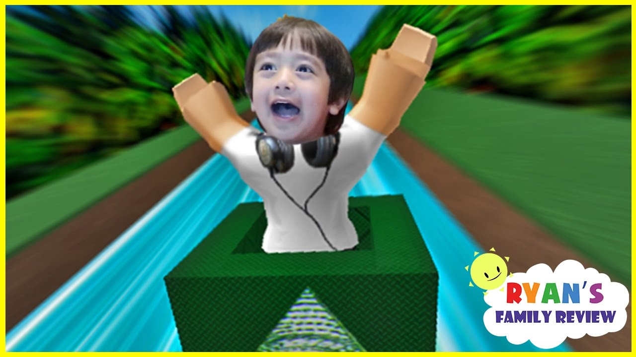 Roblox Game Night - Ryan And Daddy Game Night Let S Play Roblox Box Slide Down With