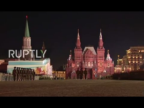 LIVE: Evening rehearsal for 2017 Moscow V-Day Parade
