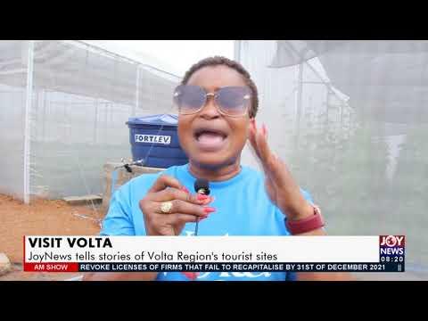 Visit Volta: JoyNews tells stories of Volta Region's tourist sites -  AM Show on JoyNews (21-7-21)