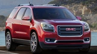 2013 GMC Acadia Start Up and Review 3.6 L V6