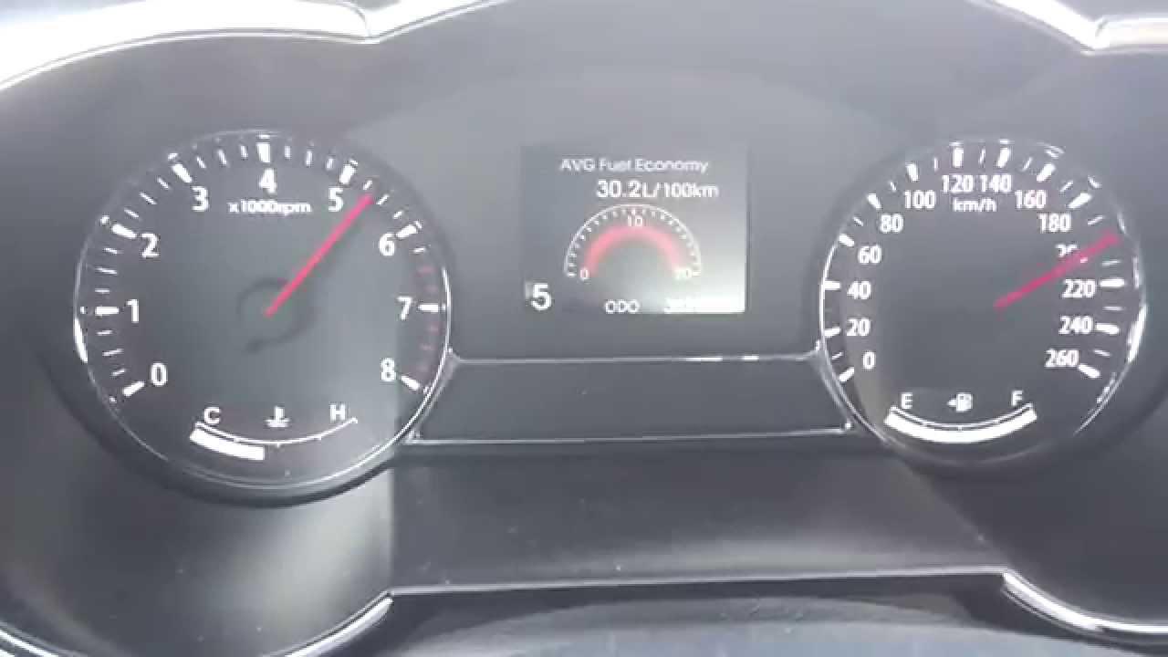 Kia Optima 2 0 Cvvl 6at 0 210km H Acceleration Youtube