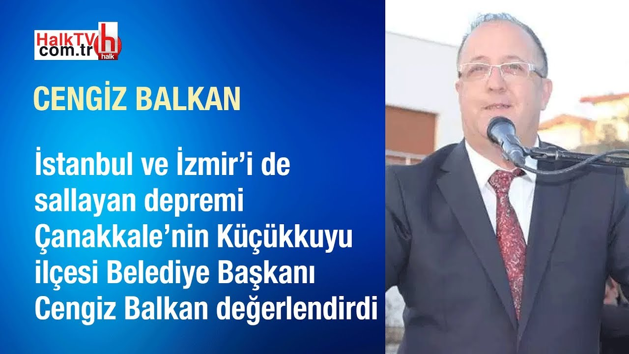 Marmara'da korkutan deprem // Cengiz Balkan