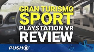 Gran Turismo Sport Playstation Vr (psvr) Review   Playstation 4   Ps4 Pro Gameplay Footage