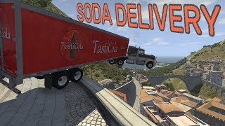 SODA DELIVERY & HYPERMILING! - BeamNG.drive