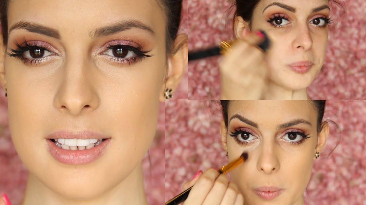 Curso de maquillaje video 1 como aplicar la base liquida - Como se aplica el microcemento paso a paso ...