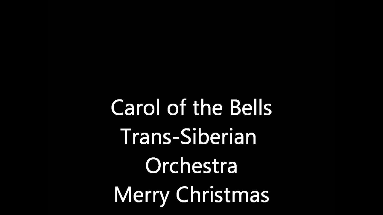 Carol Of The Bells Christmas Lights 2020 Carol of the Bells   Trans Siberian Orchestra   Higher Quality