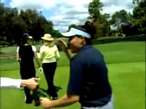 Leann Hunley Golfing