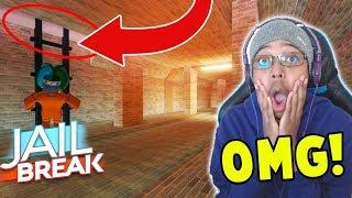 UNDERGROUND TUNNEL ESCAPE in ROBLOX JAILBREAK!!! *NEW UPDATE*