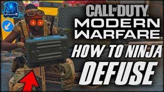 How to Ninja Defuse on Modern Warfare! (Best Class Setup, Tips & Tricks)